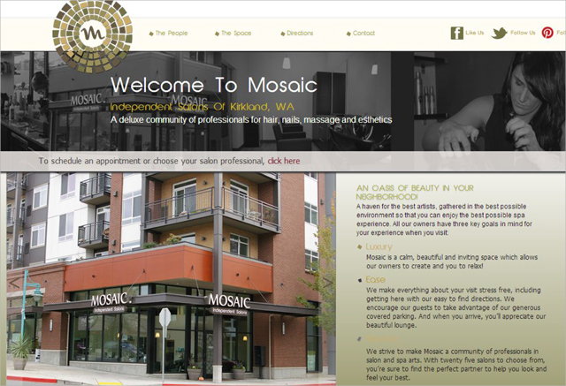 Original Mosaic Website
