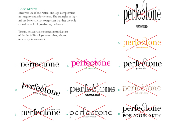 PerfecTone Style Guide